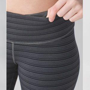 Lululemon Wunder Under Crop II Textured leggings-6